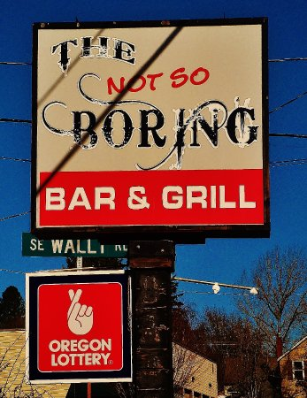 Boring, OR: sign by the road