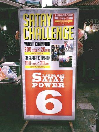 Satay Challenge