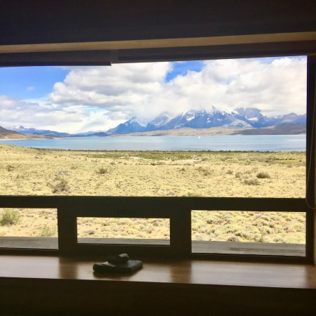 Tierra Patagonia Hotel & Spa: View from our room