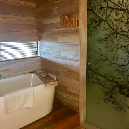 Tierra Patagonia Hotel & Spa: Bath room with a view