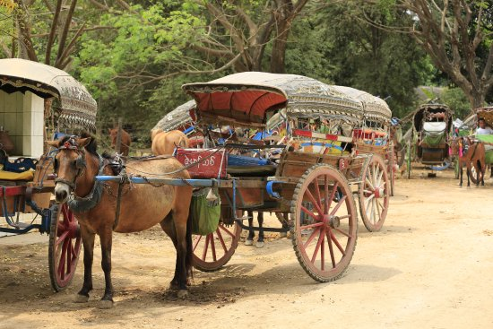 Mandalay, Myanmar: Take a horsecart to visit around Innwa