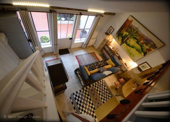 la chambre sur la mezzanine ouverte - Picture of Le Gratin Mondain ...