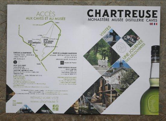 Musée de la Grande Chartreuse : Le flyer
