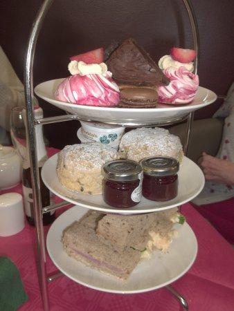 Brent Knoll, UK: Cream Tea