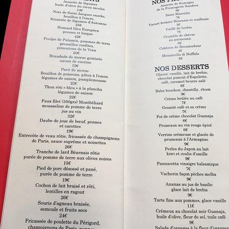 Le comptoir paris 9 carrefour de l odeon restaurant - Le comptoir du relais restaurant menu ...