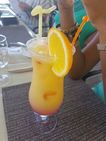 Eden Island, Seychelles: Tamassa signature cocktail