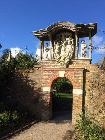 Haywards Heath, UK: Part of the walled garden