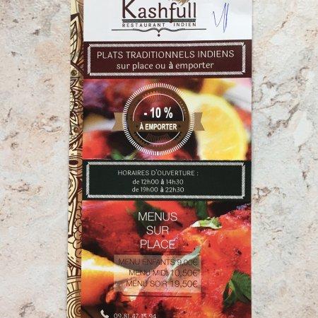 Kashfull Restaurant Indien