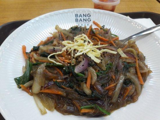 bang bang oriental food hall vegetarian stirfry