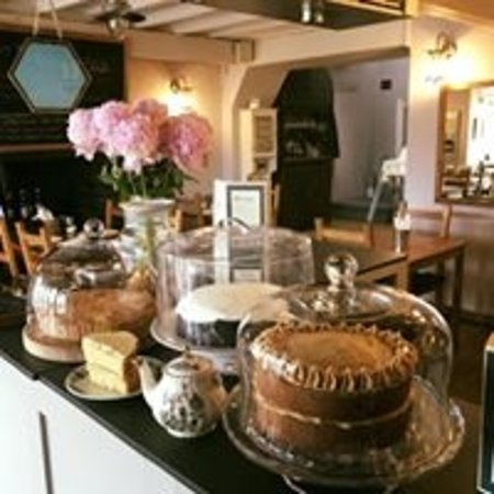 Borth-y-Gest, UK: homemade cakes served daily from 10am