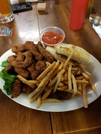 Cascade, ID: steak and fries