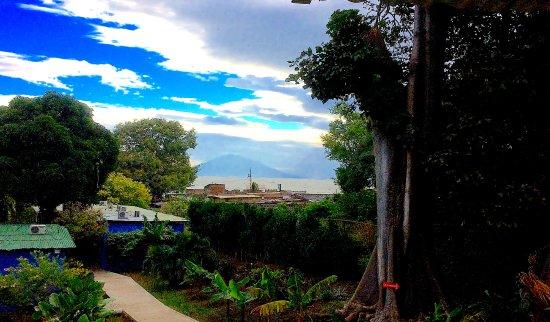 San Jorge, Nicaragua: view from pool area