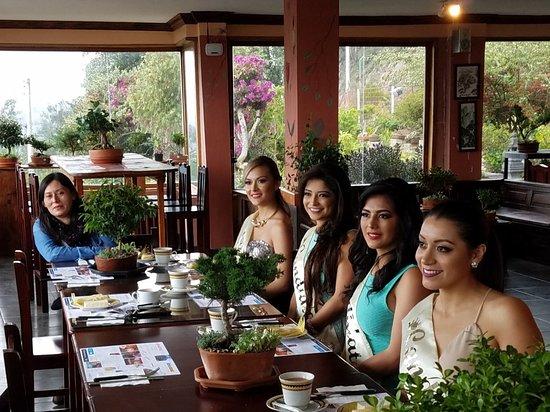 Pelileo, เอกวาดอร์: LUNA BONSAI  Hotel & Café con una vista espectacular al Valle Hermoso, 23 variedades de café, cr
