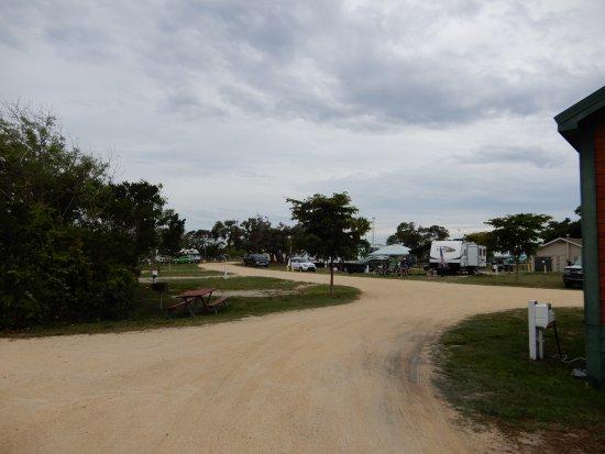 Jetty Park Campground: Campsites