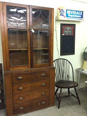 Mixie's Antiques & Collectibles Mall: Step Back Cupboard