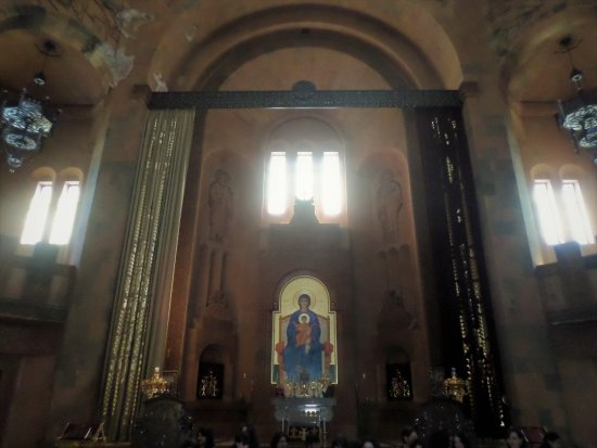 Abovyan, Armenia: L'altare
