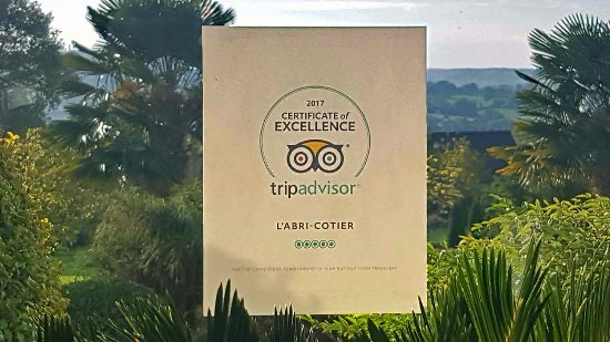 "Surville, France: Our ""Certificate of Excllence Award for 2017"