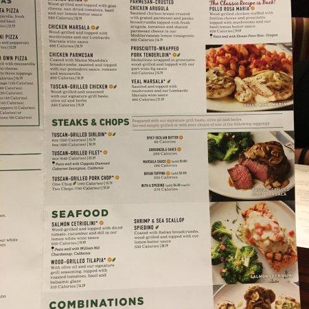 carrabba s italian grill  clearwater menu  prices   restaurant reviews tripadvisor carrabba's italian grill orlando menu prices Carrabba's Menu
