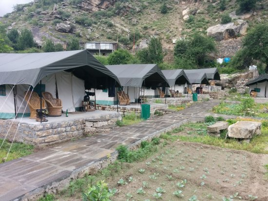 Sangla, India: Camp Overview