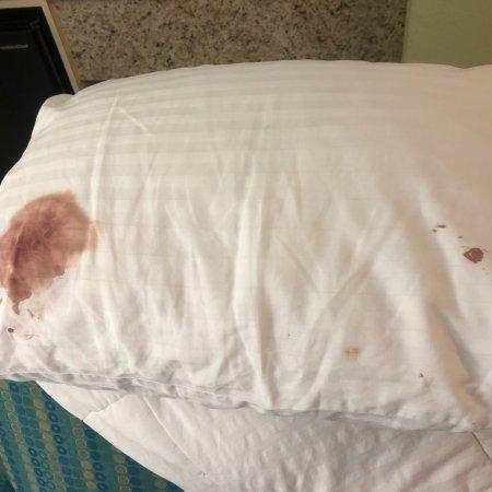 Strangers blood found !