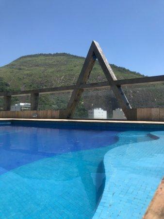 Augusto's Copacabana Hotel: Vista da piscina