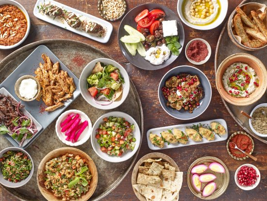 Mezze to share picture of anoush 39 ella boston tripadvisor for Anoush middle eastern cuisine