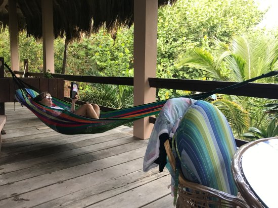 Xanadu Island Resort: hammock with a view!