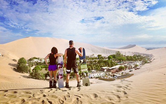 Huacachina, Peru: Try a sand adventure in the Peruvian dunes with us.