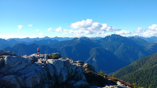 North Vancouver, Canada: Hiking in the North Shore mountains