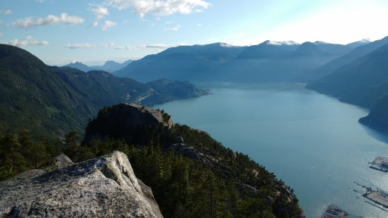 North Vancouver, Canada: Squamish adventures