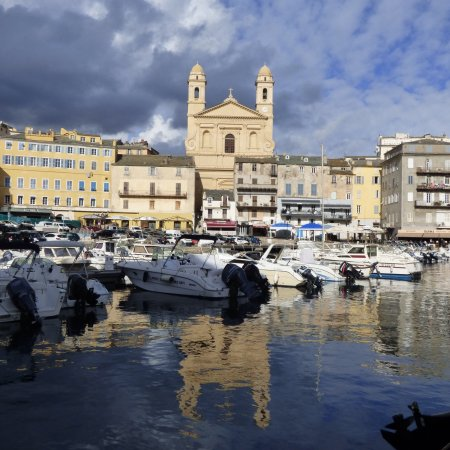 Morning Stroll Around The Old Port Bastia Picture Of Le Vieux