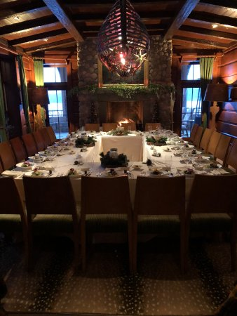 Lake Placid Lodge: Wedding Reception Dinner