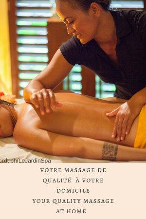 Afareaitu, Французская Полинезия: Polynesian Massage