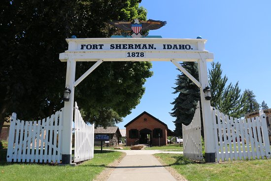 Coeur d'Alene, ID: Fort Sherman Powder Magazine