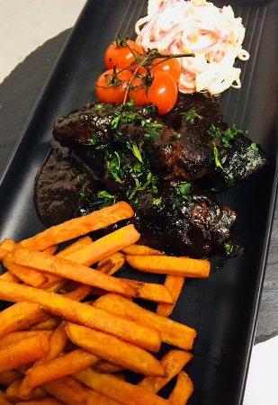 Nuthampstead, UK: Valentines 2018 - BBQ beef brisket