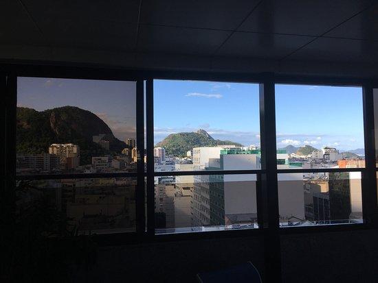 Majestic Rio Palace Hotel: Vistas desde el Gym de la terraza