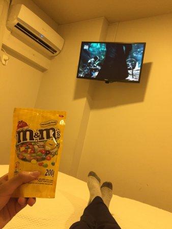 Majestic Rio Palace Hotel: Comiendo M and M en la habitacion