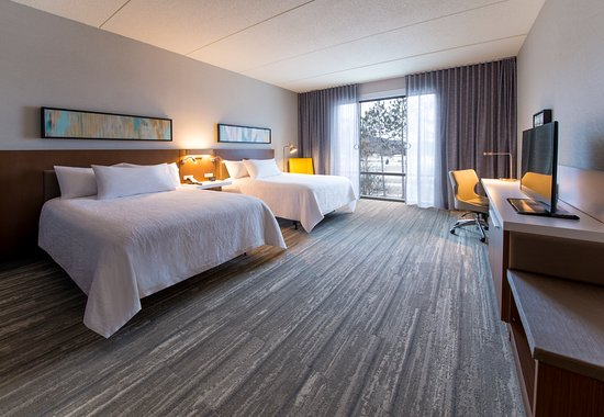 Wausau, WI: Guest Room - Double Queen Mobile Accessible