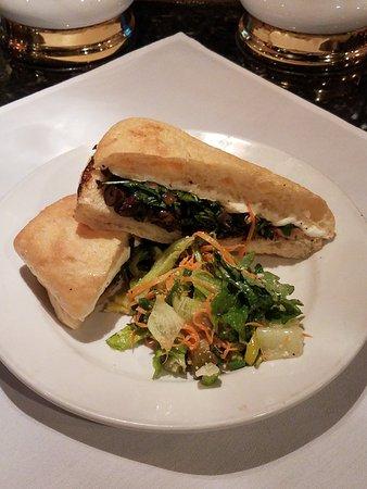 Irving, TX: Wild Mushroom Panini w/House Salad