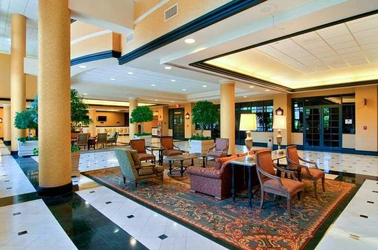 Hilton New Orleans Airport: Lobby