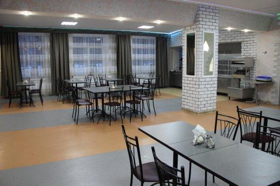 Otradny, Ρωσία: Зал в кафе Городок