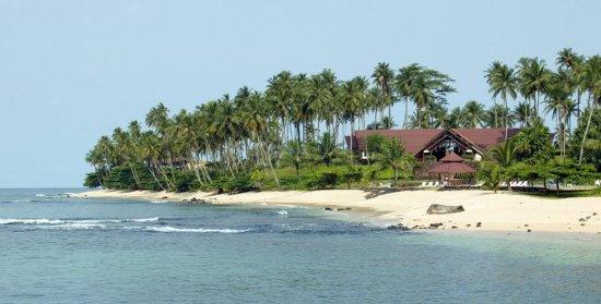 Ilheu Das Rolas, Sao Tome and Principe: Exterior