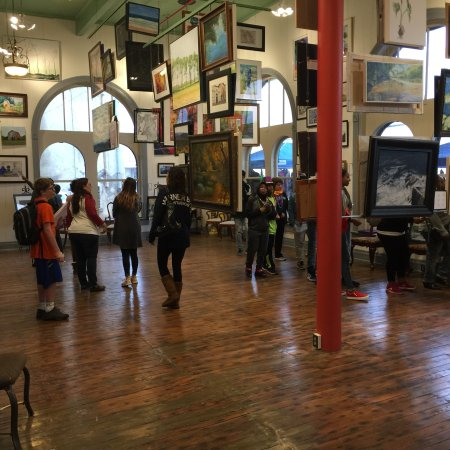 Texarkana, AR: The beauty of art in a 124 year old building