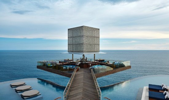 Uluwatu, Indonesia: The Cube provides an inspiring focal point for the OMNIA Bali experience
