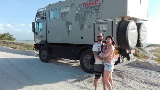 Rio Lagartos, México: Dando un viaje por el mundo