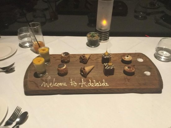 Belair, Australie : Our exquisite dessert