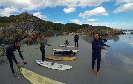 เฮอร์มานัส, แอฟริกาใต้: Hermanus surf school