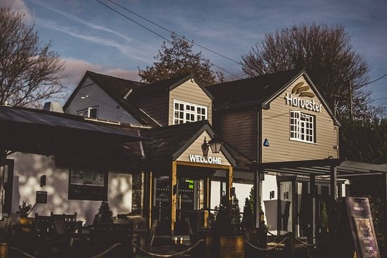 Entrance - Picture of Harvester - The Old Milll, Pencoed - Tripadvisor