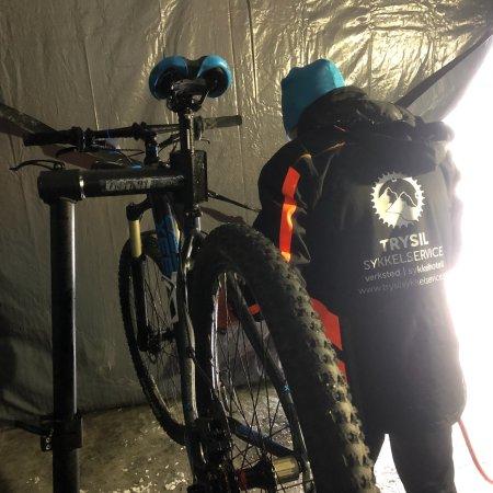 Innbygda, النرويج: Trysil Sykkelservice må prøves når du har behov for service, reparasjoner, sykkeltransport, sykk