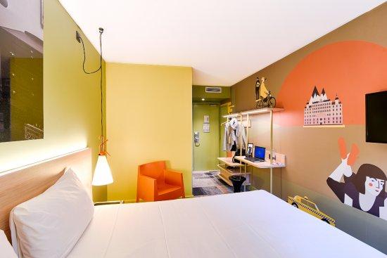 Ibis Styles Lyon Centre Confluence: Chambre double 2ème étage